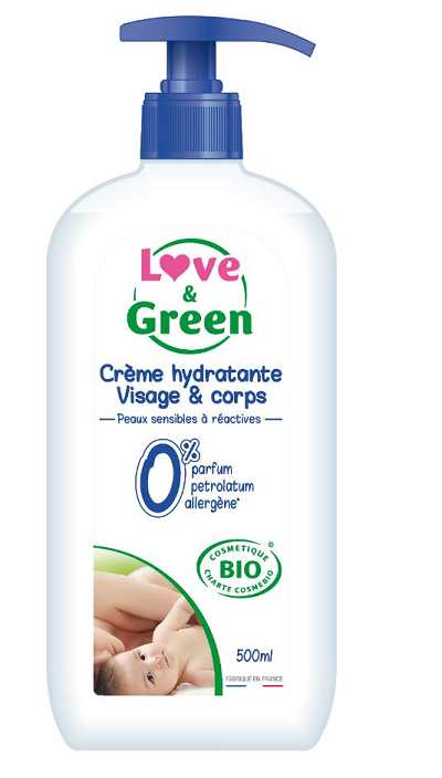 Love and Green Baby fugt body lotion 500 ml