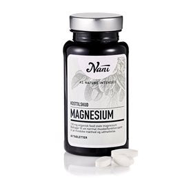 Nani Magnesium Food State 60 tabletter