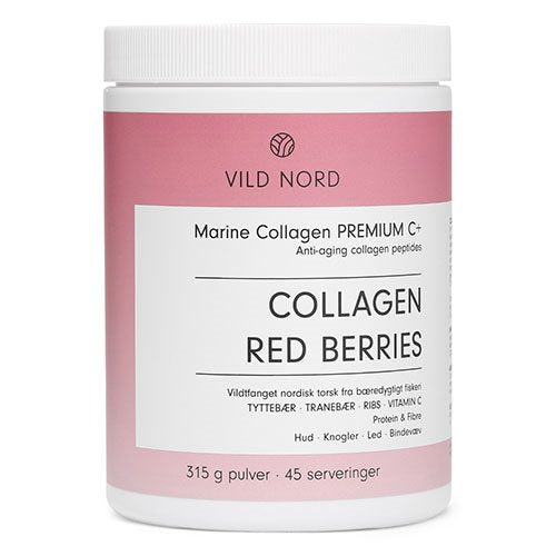 VILD NORD Marine Collagen RED BERRIES 315 g - Hvornum