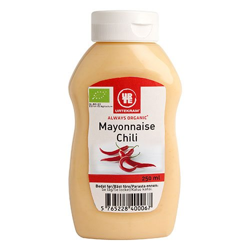 Urtekram Chili Mayonnaise 250 ml