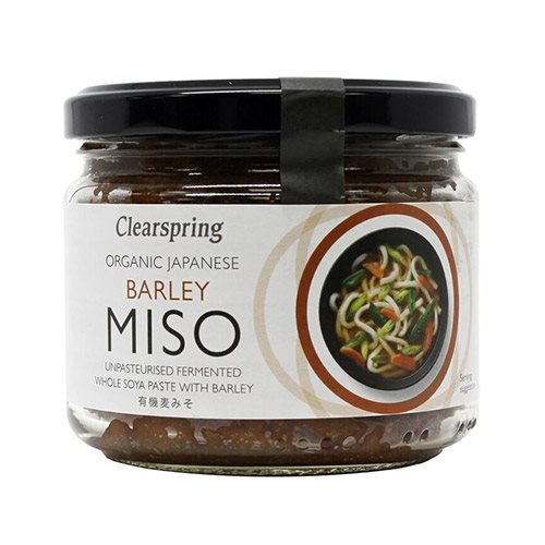 Clearspring Miso Barley - Upaseuriseret 300 g