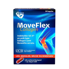 Biosym MoveFlex Collagen 30 kapsler - Hvornum