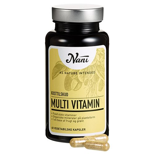 Nani Multivitamin Food State 60 kapsler