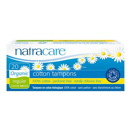 Natracare Tampon regular 20 stk - Hvornum