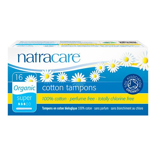 Natracare Tampon Regular 16 stk - Hvornum