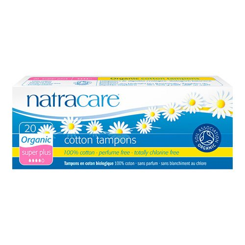 Natracare Tampon Super Plus 20 stk - Hvornum