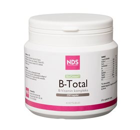 NDS B - Total vitamin 250 tabletter