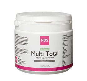 NDS Multi Total - Mineral & mineral 250 tabletter