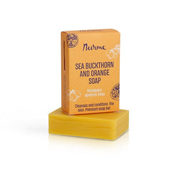 Nurme Sea Buckthorn & Orange Soap 100 g - Hvornum