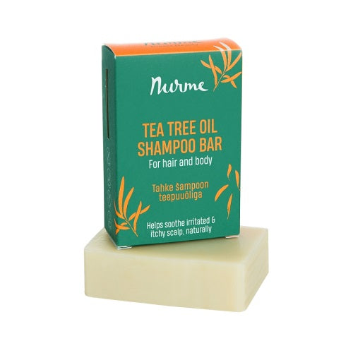 Nurme Tea Tree Shampoobar & Bodyshapoo 100 g