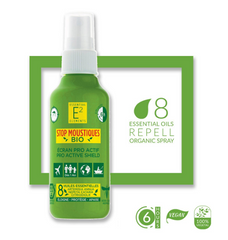 E 2 Essential Elements Myggespray 100 ml - Hvornum