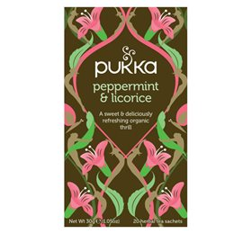 Pukka Peppermint & Licorice 20 breve