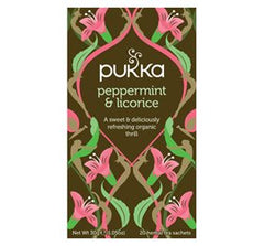 Pukka Peppermint & Licorice 20 breve - Hvornum