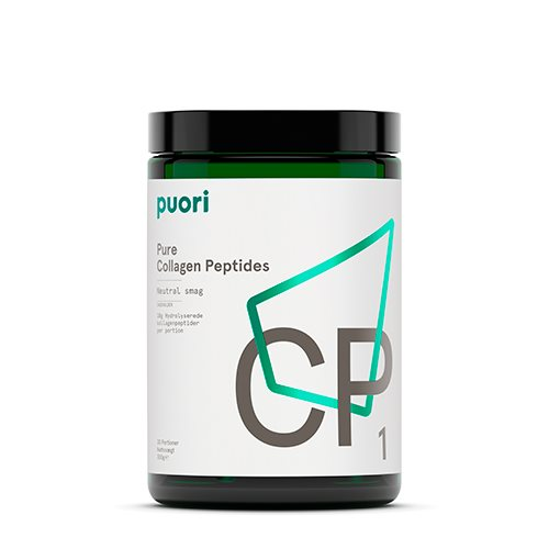 Puori Pure Collagen Peptides CP1 300g - Hvornum