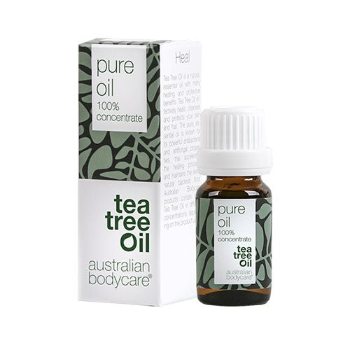 Australien Bodycare Pure Oil 100 % Tea Tree Oil 10 ml - Hvornum