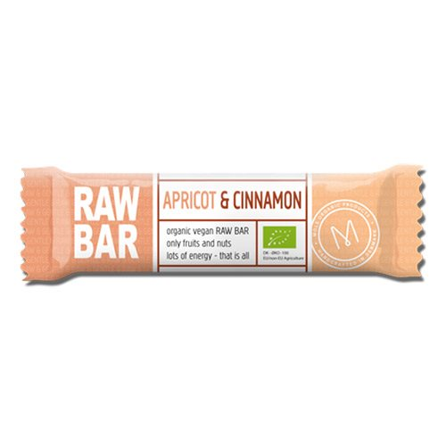 Raw Bar Abrikos & Kanel 45 g