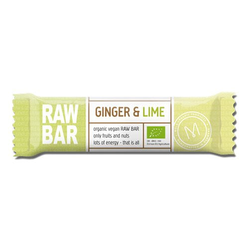 Raw Bar Ingefær & Lime 45 g