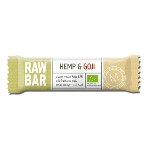 Raw Bar Hemp & Goji 45 g