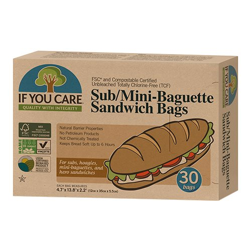 If you care Sub/Mini baguette & Sandwich bags 30 stk. - Hvornum