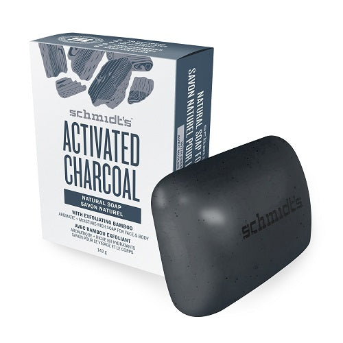 Schmidt´s Naturals - Activated Charcoal Soap Bar 142 g