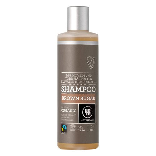 Urtekram Brown Sugar Shampoo - Tørt Hår 250 ml