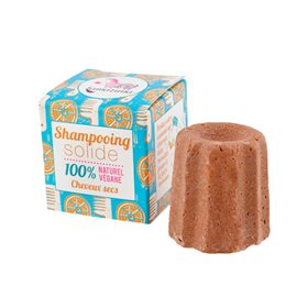 Lamazuna shampoobar med kokosolie og orange peel oil 55 g