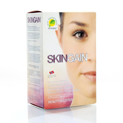 Beauty Booster Skingain Kollagen og C - Vitamin 30 sticks af 55 g