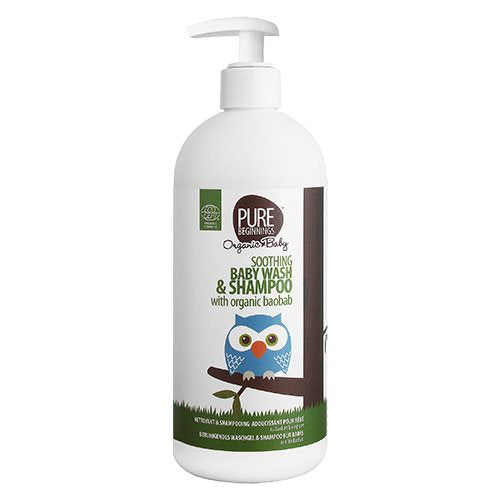 Pure Beginnings Baby Shampoo & Bodyshampoo 500 ml