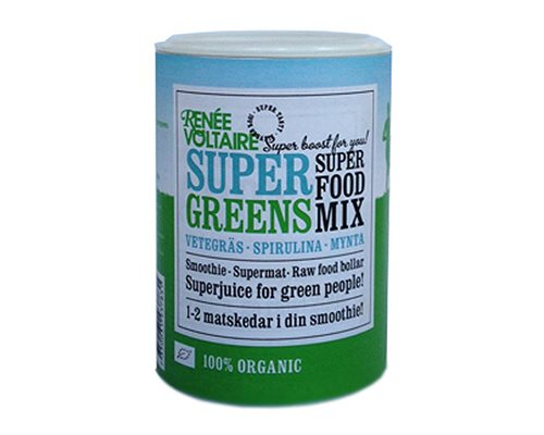 Renéé Voltaire Super Food Mix Super Greens 100 g - Hvornum
