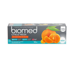 Biomed Tandpasta Citrus Fresh 100 g - Hvornum