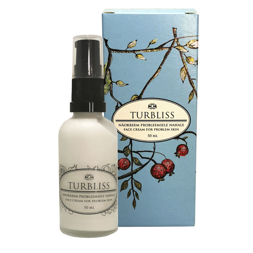 Turbliss Face Cream For Problem Skin 50 ml - Hvornum