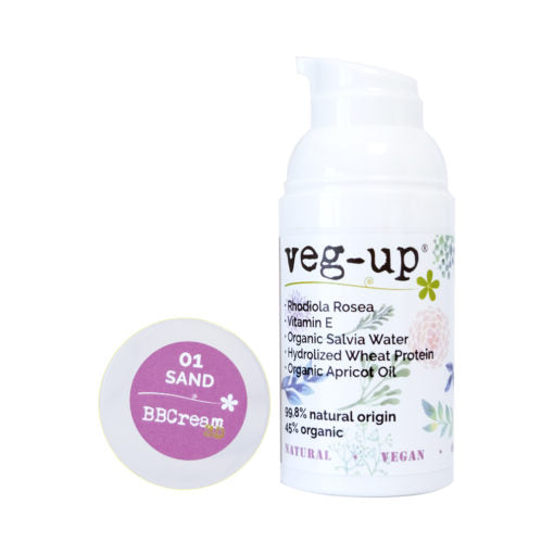 Veg-up BB Cream 3D Sand 01 - Hvornum