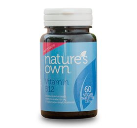 Natures own Vitamin B12 smeltetablet 60 tab