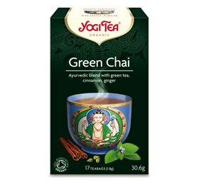 Yogi Tea Green chai 17 breve