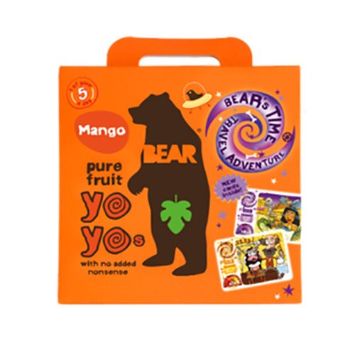 Bear Yoyo Pure Fruit Mango 100 g - Hvornum