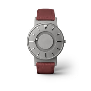 Bradley Canvas Bordo Unisex Kol Saati