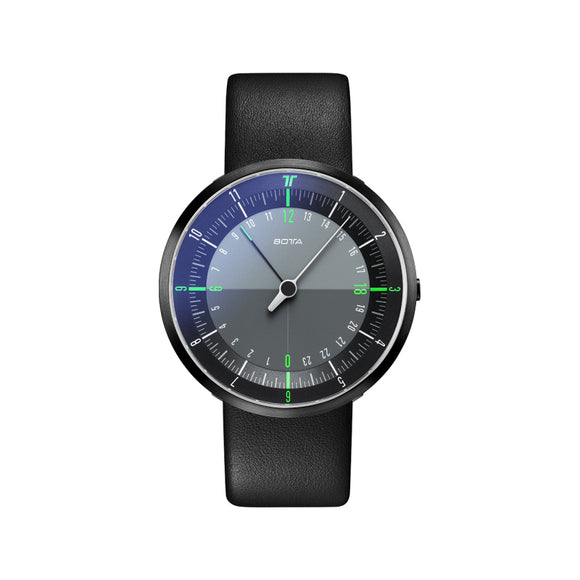 Botta Duo Black-Green Black Edition Quartz Unisex Kol Saati