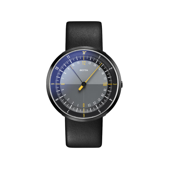 Botta Duo Black-Yellow Black Edition Quartz Unisex Kol Saati