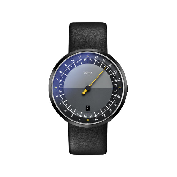 Botta Uno24 Black-Yellow Black Edition Quartz Unisex Kol Saati