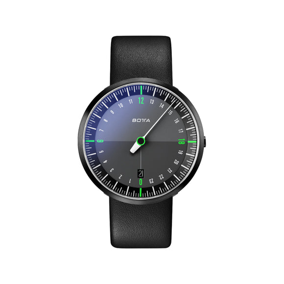 Botta Uno24 Neo Black-Green Black Edition Quartz Unisex Kol Saati