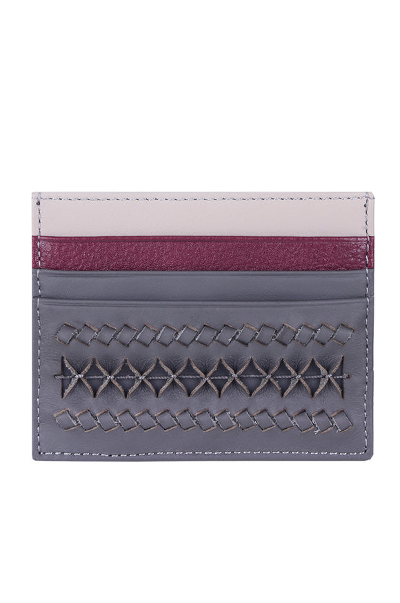 MINICA CARD HOLDER - GREY