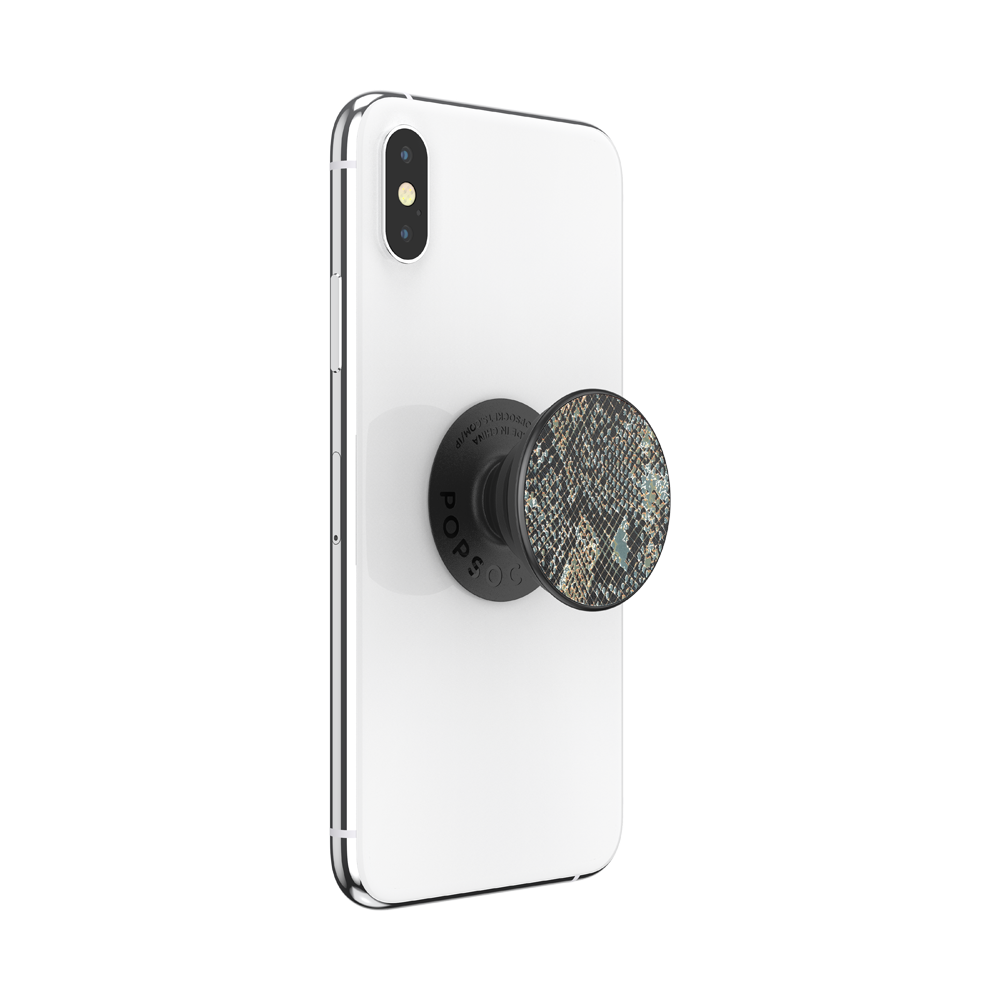 Embossed Metal Python, PopSockets