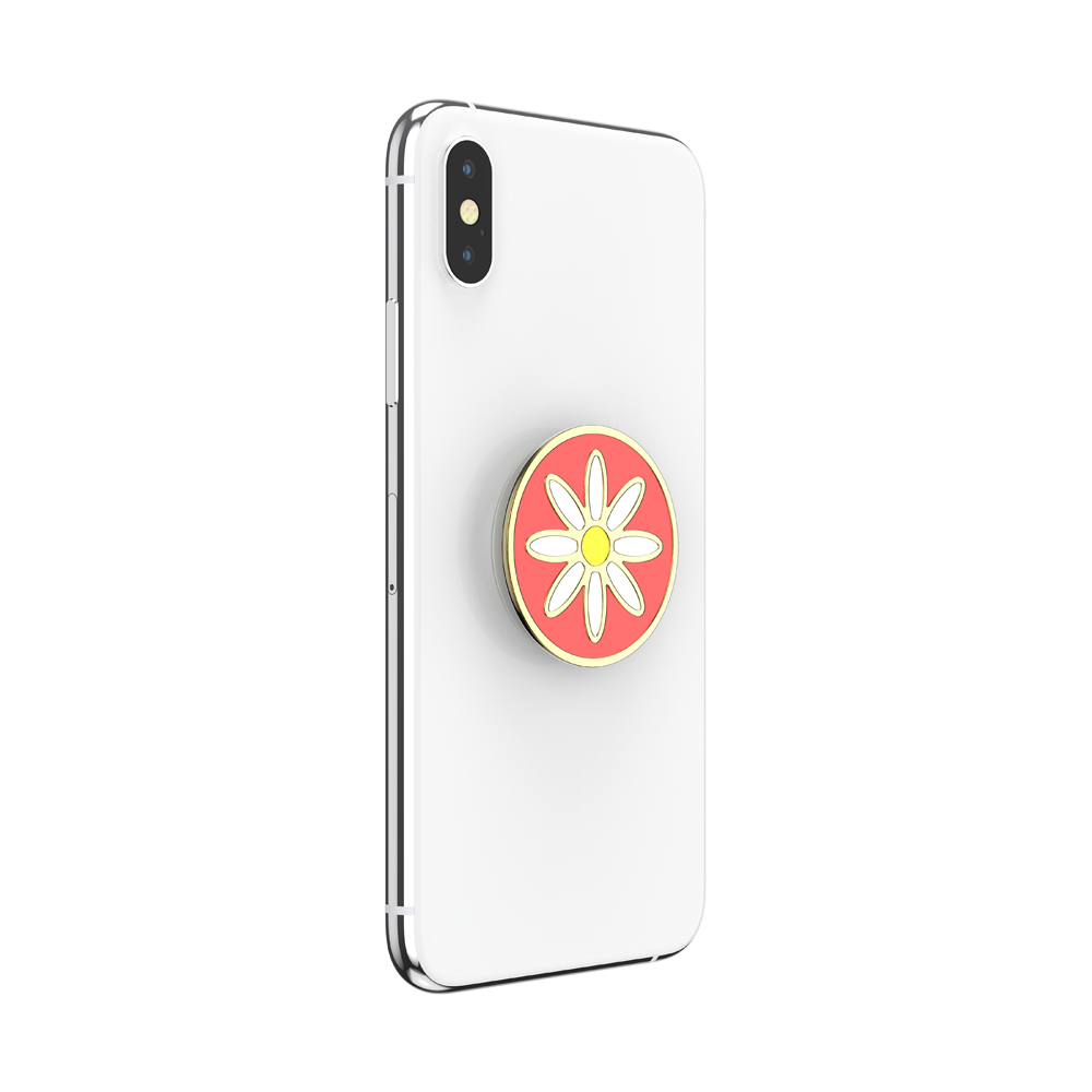 エナメル Quaint Daisy Coral, PopSockets