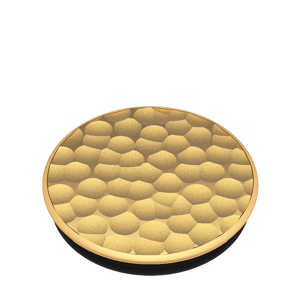 Hammered Metal Gold, PopSockets