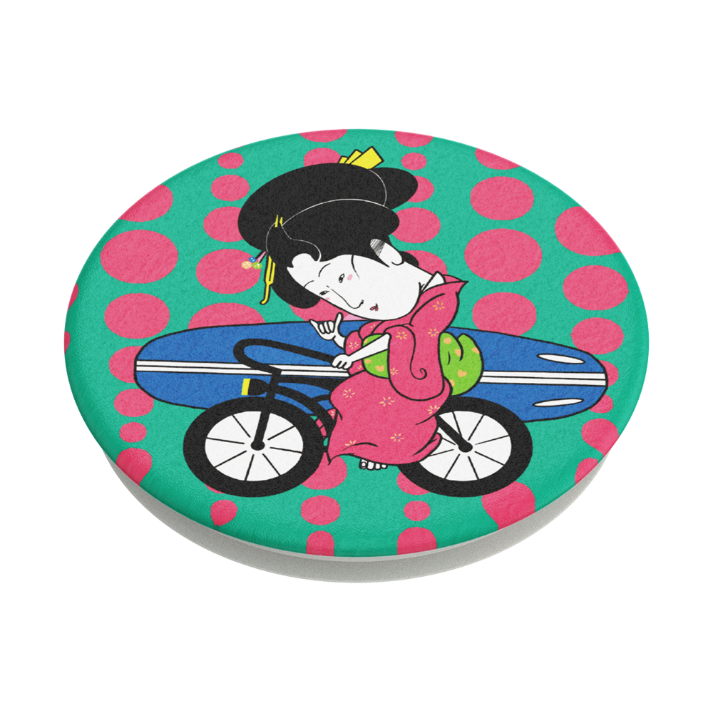 Geisha Surfer Bike (SUGA), PopSockets