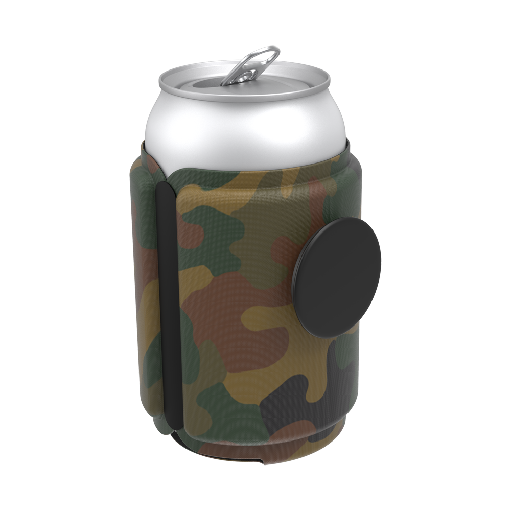 PopThirst Can Holder Phantom Camo, PopSockets