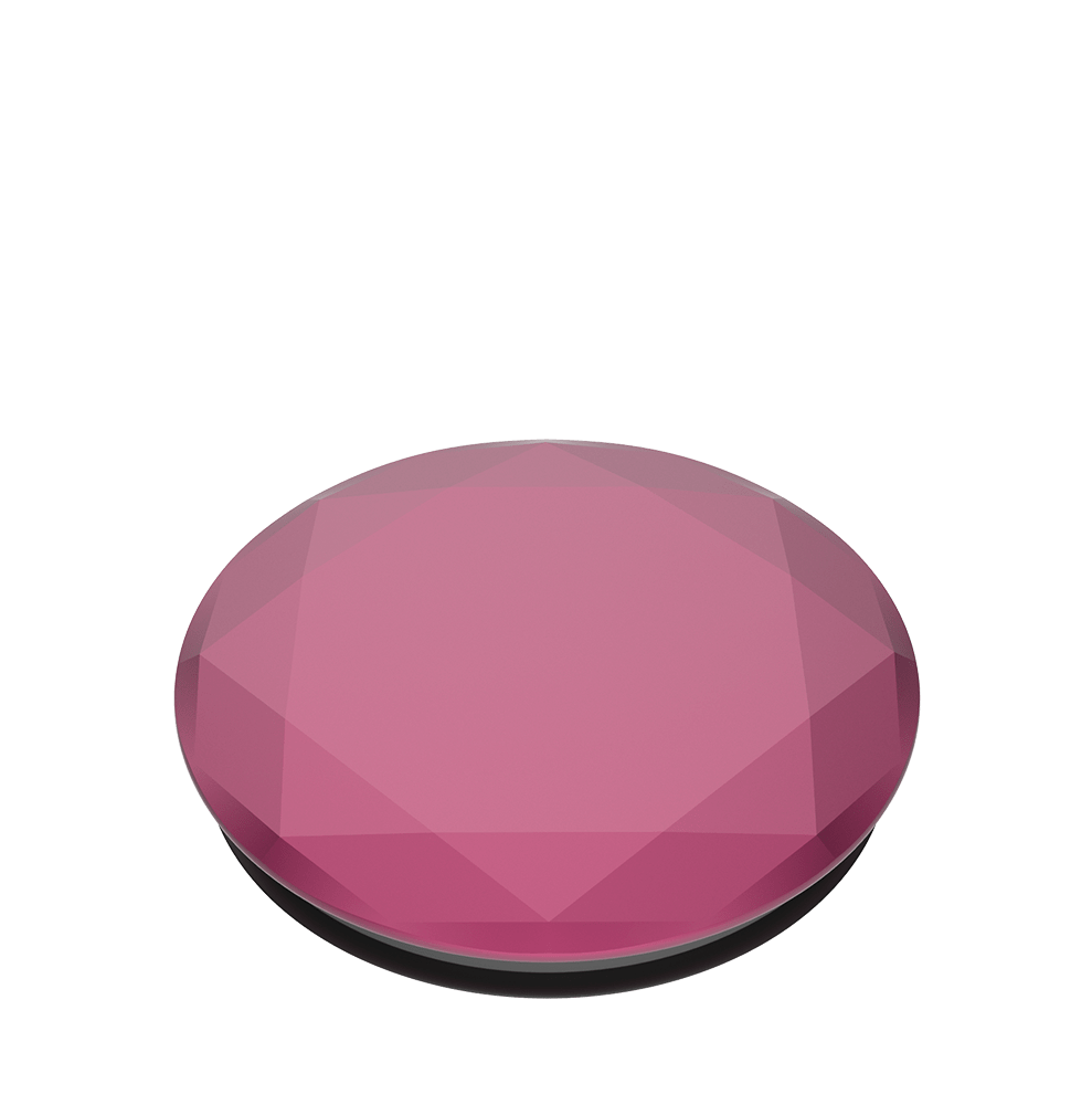Metallic Diamond Plum Berry