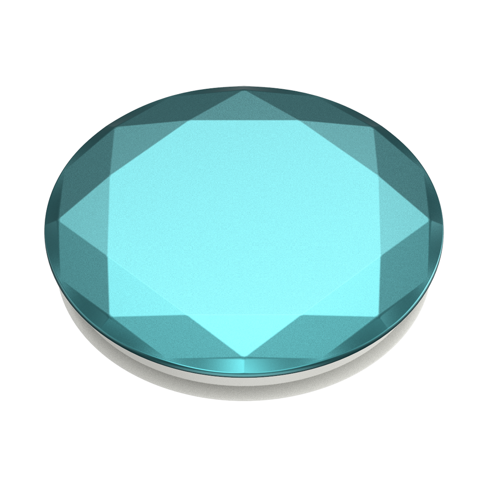 Metallic Diamond Aquarius Blue, PopSockets