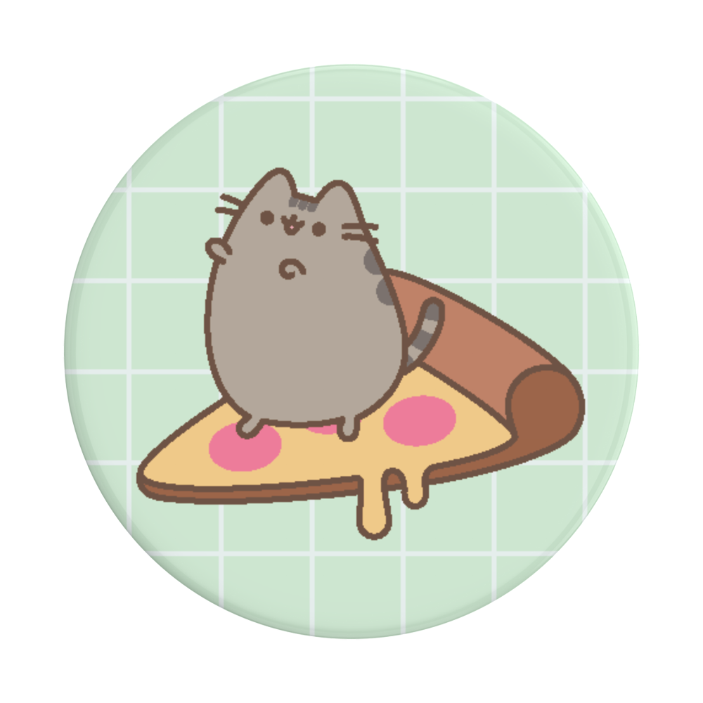 Pusheen Pizza スマホグリップ, PopSockets