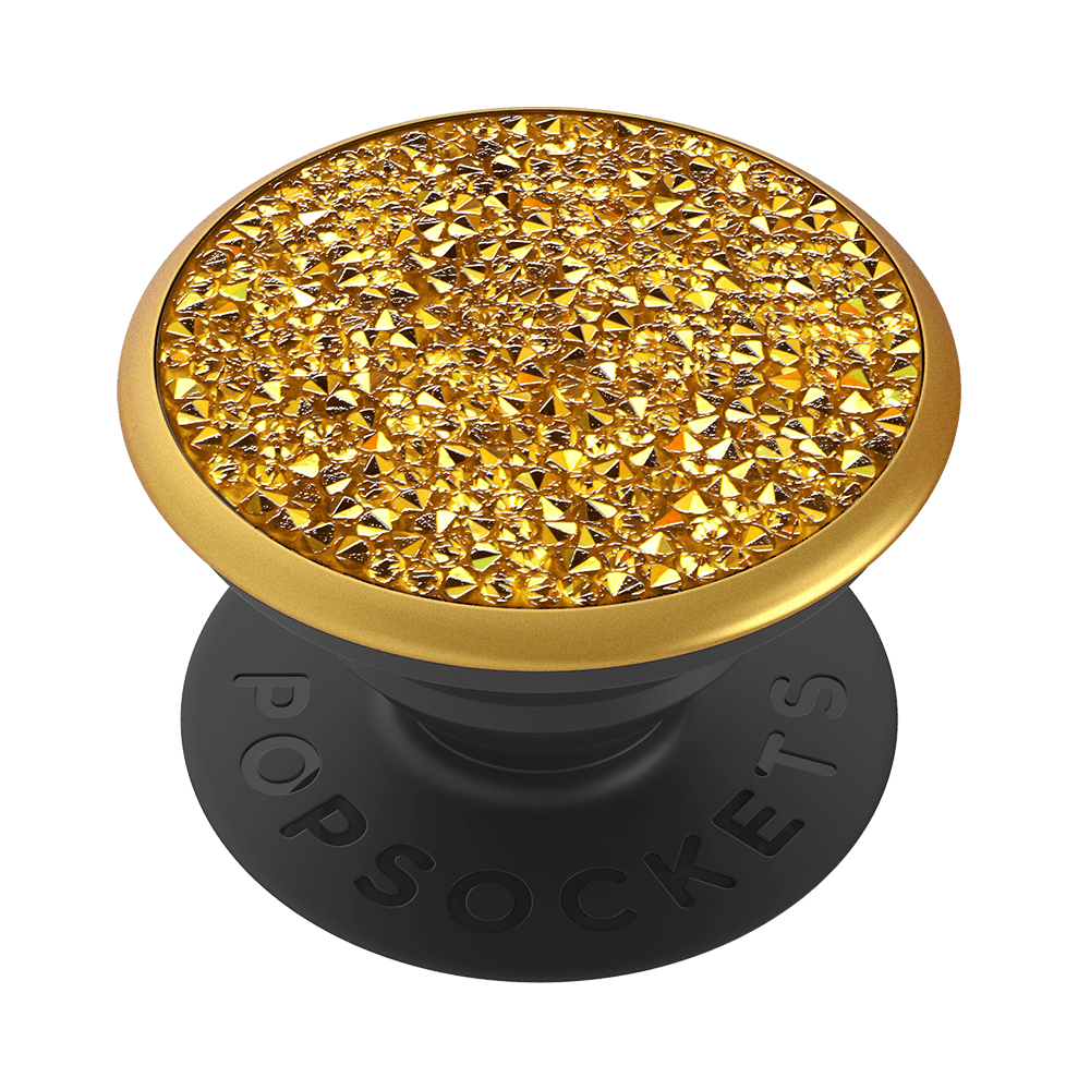 Swarovski Metallic Sunshine Crystal, PopSockets
